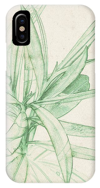 Nerium Oleander IPhone Case