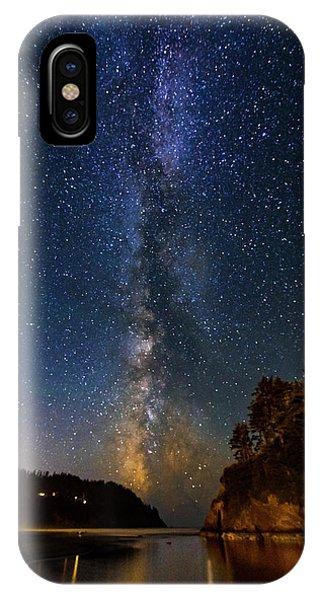 Neskowin Milky Way IPhone Case