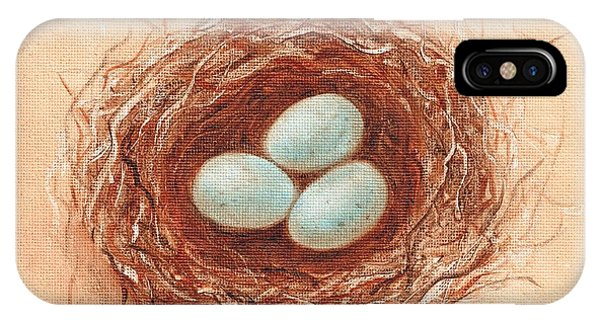 Nest In Umber IPhone Case