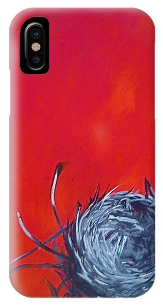 Nest On Red IPhone Case