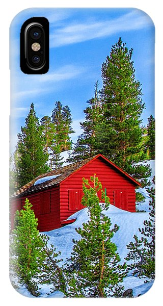 Snowy iPhone Case - Nestled In by Az Jackson