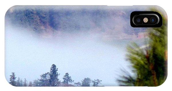 Oyama iPhone Case - Nestled In The Fog by Will Borden