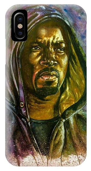Netflix Luke Cage IPhone Case