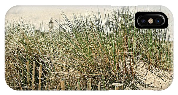 Netherlands - Dunes And Lighthouse IPhone Case