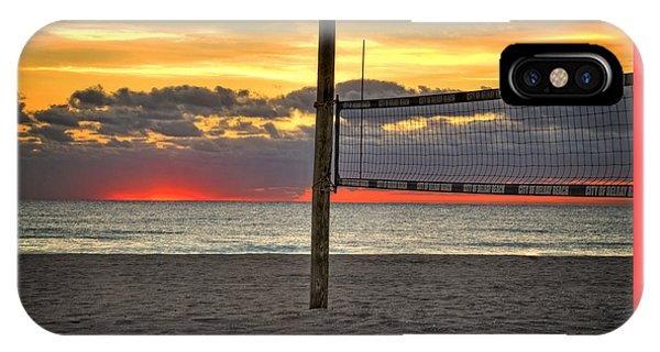 Netting The Sunrise IPhone Case