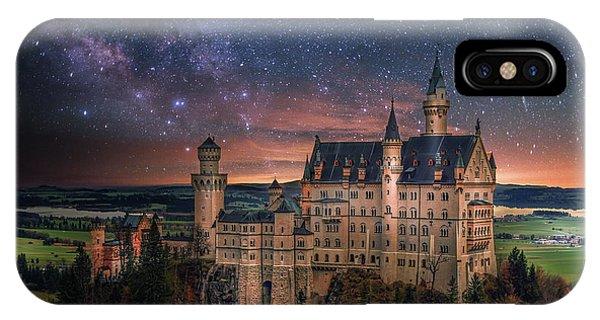 Neuschwanstein Castle Phone Case by Brent Shavnore