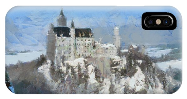 Neuschwanstein Castle IPhone Case