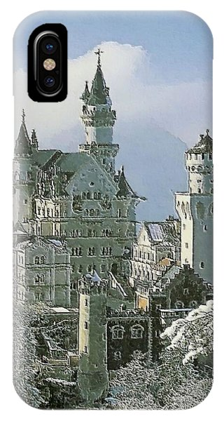 Neuschwanstein  IPhone Case