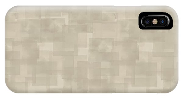 Neutral Brown Abstract Pattern IPhone Case