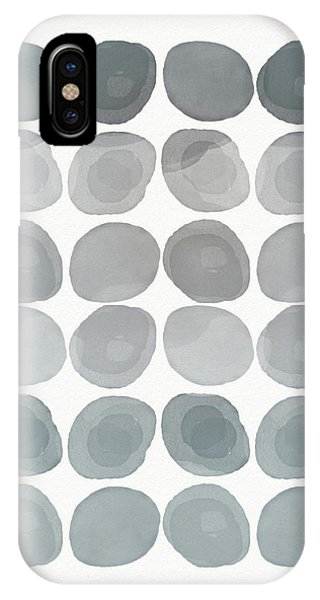 Stone Wall iPhone Case - Neutral Stones- Art By Linda Woods by Linda Woods