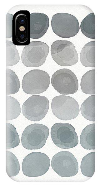 Zen iPhone Case - Neutral Stones- Art By Linda Woods by Linda Woods