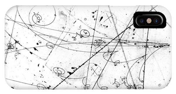 Neutrino Particle Interaction Event IPhone Case