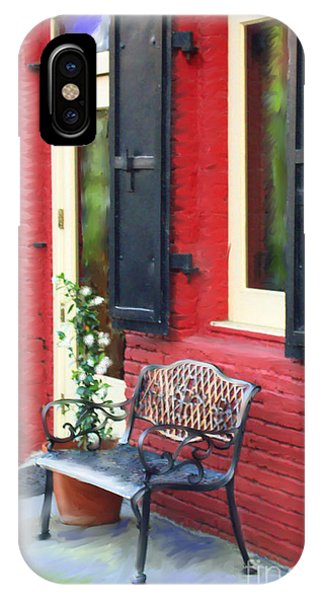 Nevada City Bench IPhone Case