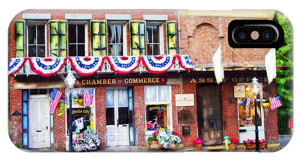Nevada City Chamber IPhone Case