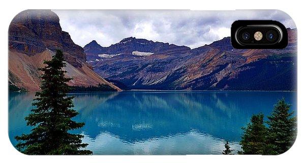 Bow Lake, Banff, Ab  IPhone Case