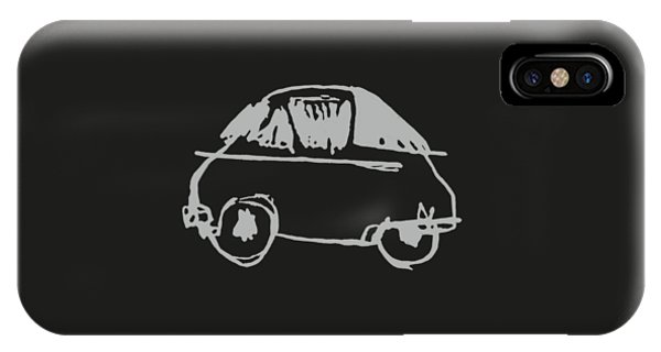 Again iPhone Case - Never Let Me Down Again 2016 by Luc Lambert