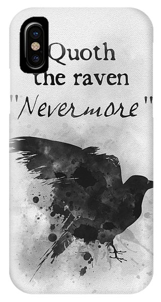 Gothic iPhone Case - Nevermore by My Inspiration