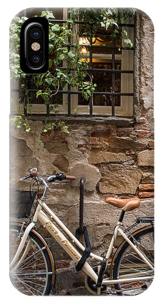 New Bike In Old Lucca IPhone Case