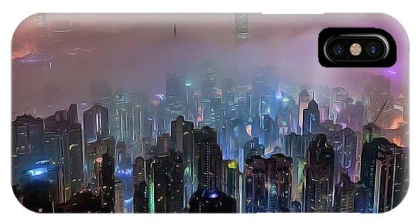 iPhone Case - New City Skyline by Harry Warrick
