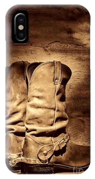 New Cowboy Boots IPhone Case