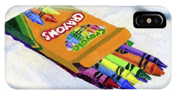 New Crayons IPhone Case