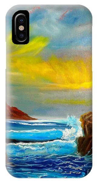 New Day In Paradise IPhone Case