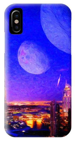 New Dubai On Tau Ceti E IPhone Case