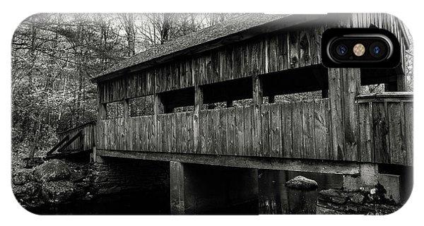 New England Covered Bridge IPhone Case