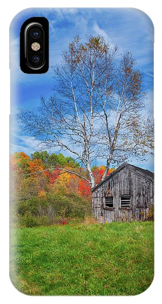 New England Fall Foliage IPhone Case