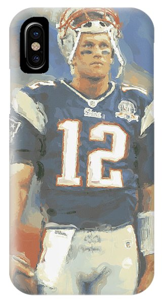 New England Patriots Tom Brady IPhone Case