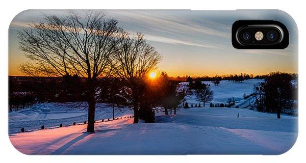 New England Sunrise IPhone Case