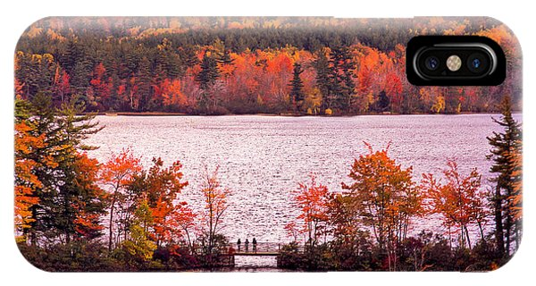 New Hampshire Fall IPhone Case