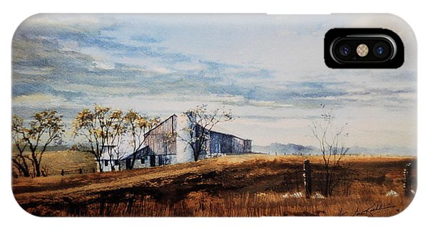 New England Barn iPhone Case - New Hope New Dreams by Hanne Lore Koehler