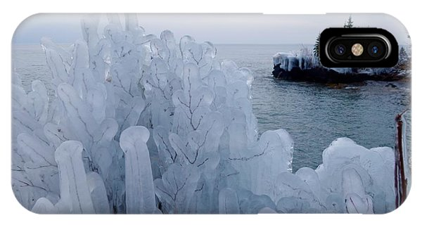New Ice On Lake Superior IPhone Case