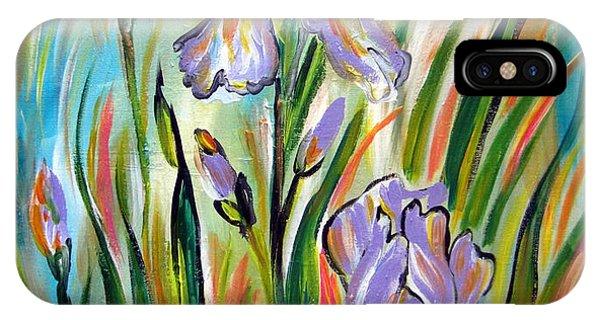 New Irises IPhone Case
