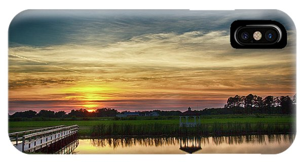 New Jersey Sunset IPhone Case