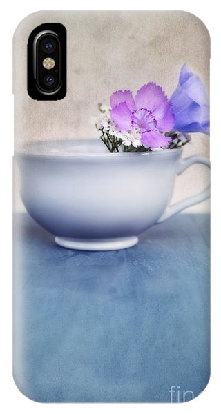Still Life iPhone Case - New Life For An Old Coffee Cup by Priska Wettstein