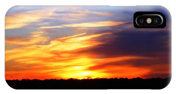 New Longview Sunset IPhone Case