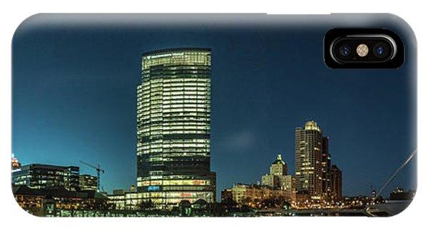 New Milwaukee Skyline IPhone Case