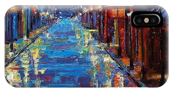 Liquor iPhone Case - New Orleans Bourbon Street by Debra Hurd