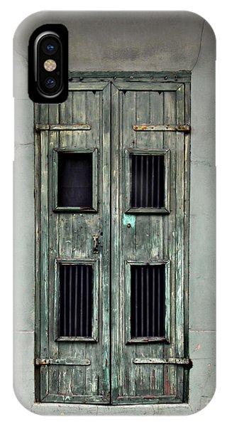 New Orleans Green Doors IPhone Case