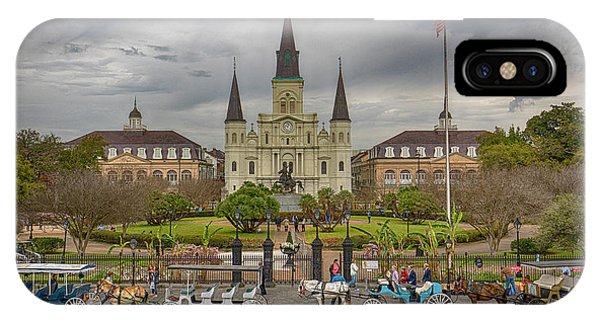 New Orleans Jackson Square IPhone Case