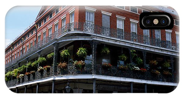 Ironwork iPhone Case - New Orleans La by Panoramic Images