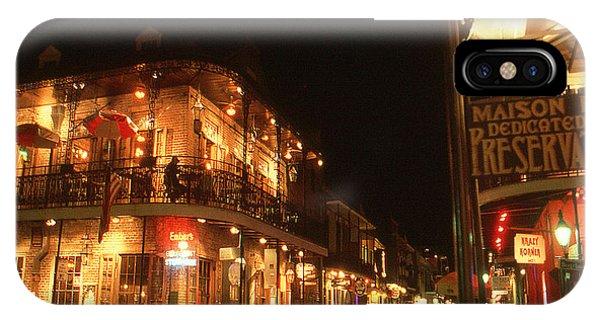 New Orleans Jazz Night IPhone Case
