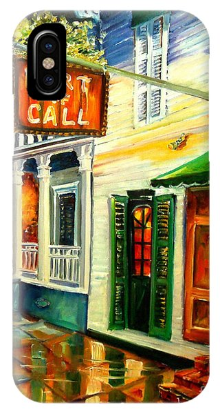 New Orleans Port Of Call IPhone Case