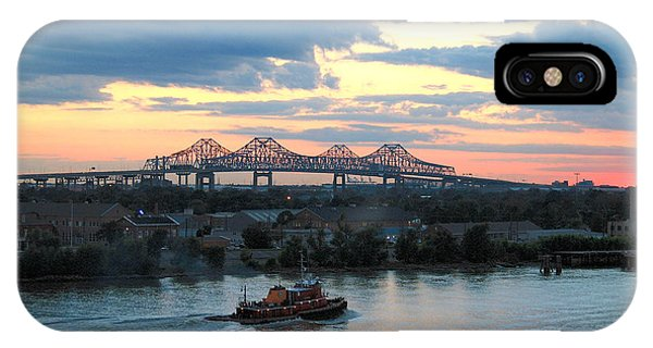 New Orleans Riverfront IPhone Case