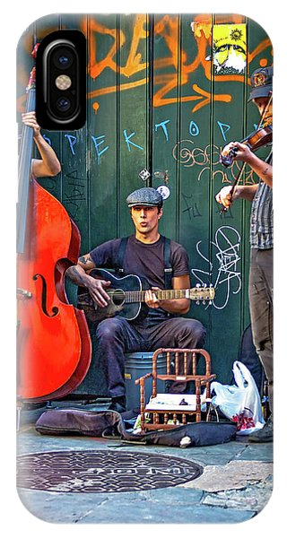New Orleans Street Musicians IPhone Case