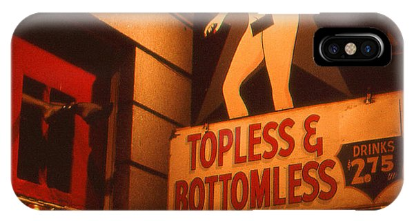 New Orleans Topless Bottomless Sexy IPhone Case