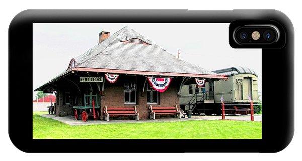 New Oxford Pennsylvania Train Station IPhone Case