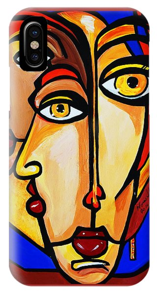 New Picasso By Nora Friends IPhone Case